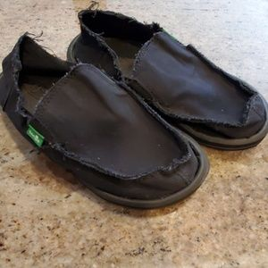 Sanuk Vagabond Slip-on Shoes size 1